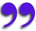 Right purple quotation-marks